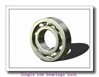 787/772A Single row bearings inch
