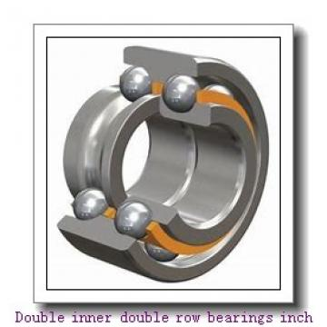 EE722110/722186D Double inner double row bearings inch