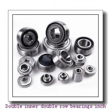 EE134102/134144D Double inner double row bearings inch